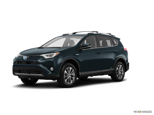 2017 Toyota RAV4 Hybrid in Galactic Aqua Mica