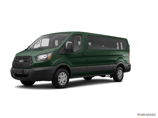 2017 Ford Transit Wagon in Green Gem Metallic