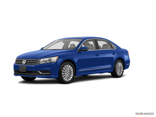 2017 Volkswagen Passat in Reef Blue Metallic