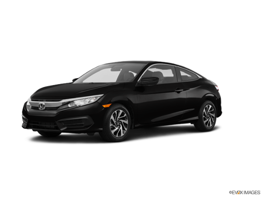 2017 Honda Civic Coupe in Crystal Black Pearl