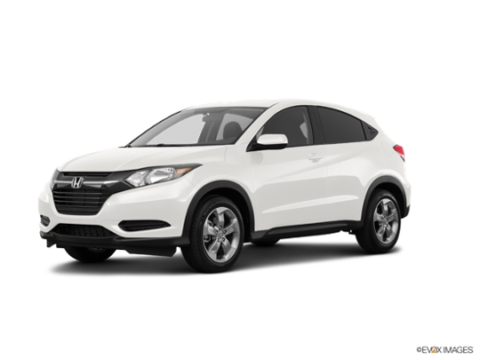 2017 Honda HR-V in White Orchid Pearl