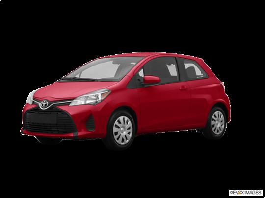 2017 Toyota Yaris in Barcelona Red Metallic