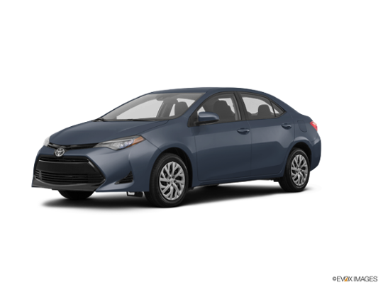 2017 Toyota Corolla in Slate Metallic