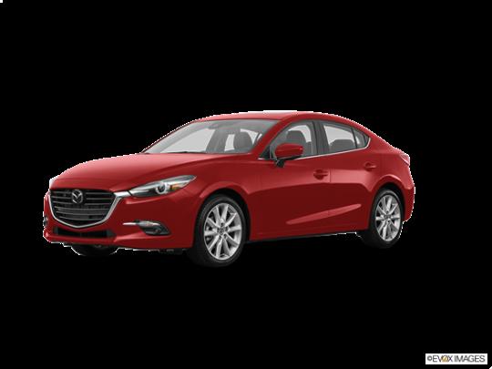 2017 Mazda Mazda3 4-Door in Soul Red Metallic