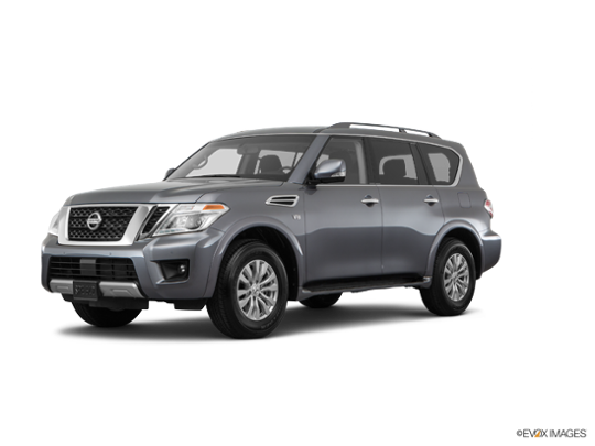2017 Nissan Armada in Gun Metallic