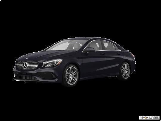 2017 Mercedes-Benz CLA in Night Black