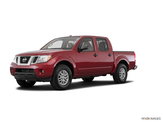 2017 Nissan Frontier in Cayenne Red
