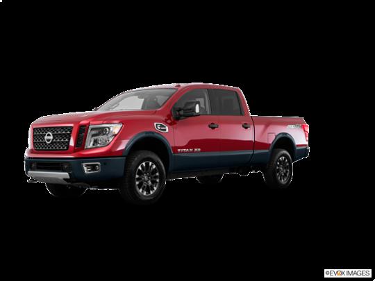 2017 Nissan Titan XD in Cayenne Red