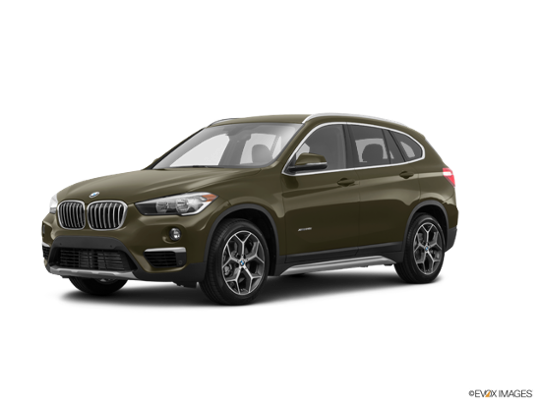 2017 BMW X1 xDrive28i in Dark Olive Metallic
