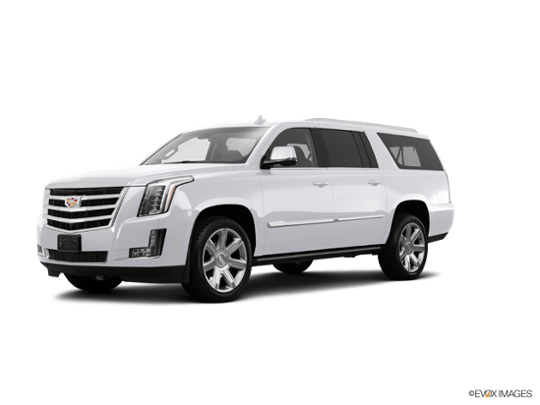 2017 Cadillac Escalade ESV in Crystal White Tricoat