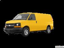 2017 Express Cargo Van 3500 Extended Wheelbase Rear-Wheel Drive