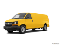 2017 Express Cargo Van 2500 Extended Wheelbase Rear-Wheel Drive