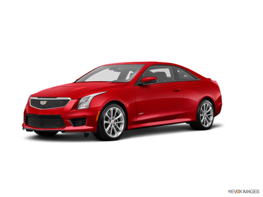 2017 Cadillac ATS-V Coupe in Red Obsession Tintcoat