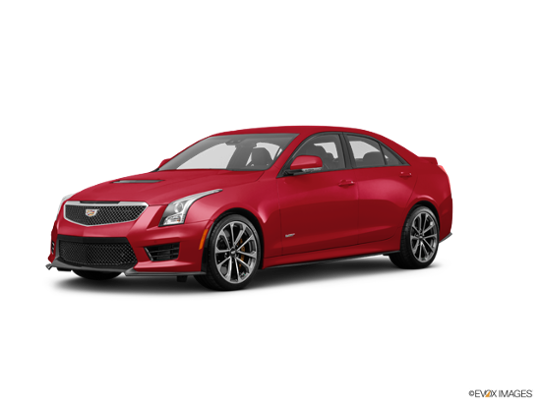 2017 Cadillac ATS-V Sedan in Red Obsession Tintcoat