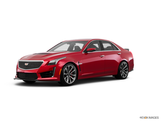 2017 Cadillac CTS-V Sedan in Red Obsession Tintcoat