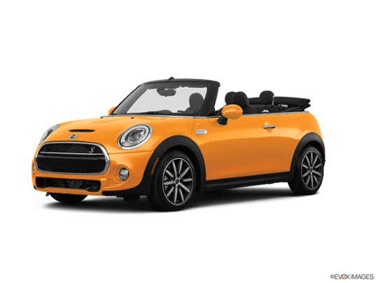 2017 MINI Cooper S Convertible in Volcanic Orange