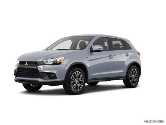 2017 Mitsubishi Outlander Sport in Cool Silver Metallic