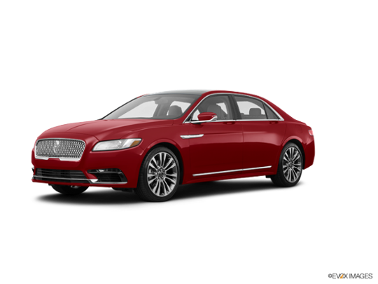 2017 LINCOLN Continental in Ruby Red Metallic Tinted Clearcoat