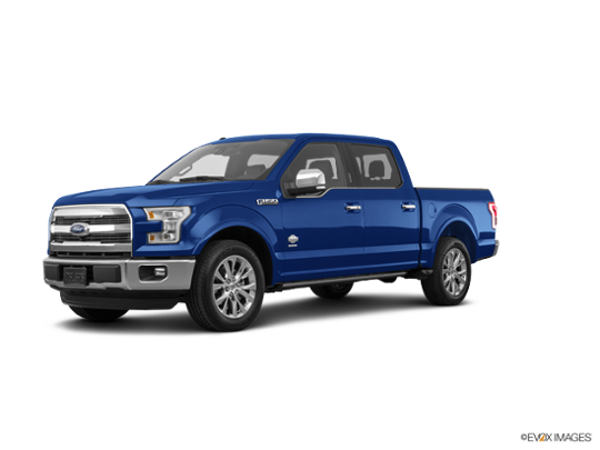 2017 Ford F-150 in Lightning Blue