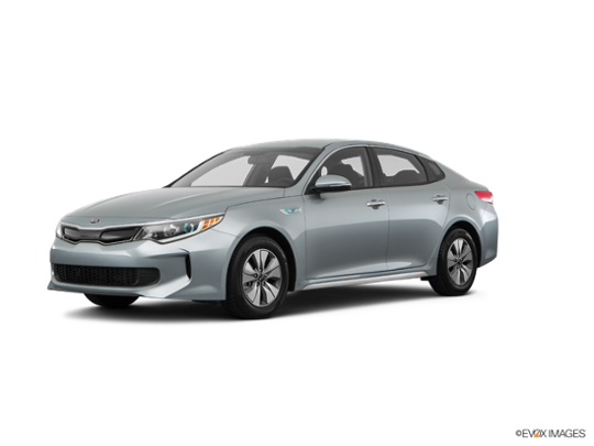 2017 Kia Optima Hybrid in Aluminum Silver