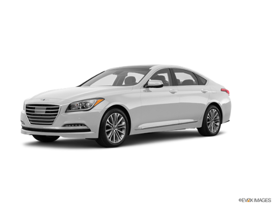 2017 Genesis G80 in Casablanca White