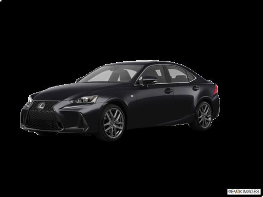 2017 Lexus IS Turbo in Obsidian
