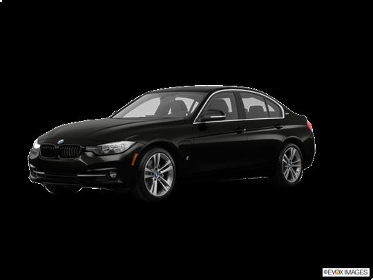 2017 BMW 330e iPerformance in Jet Black