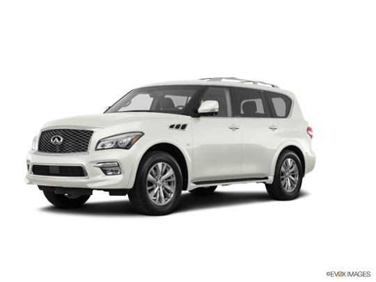 2017 INFINITI QX80 in Majestic White