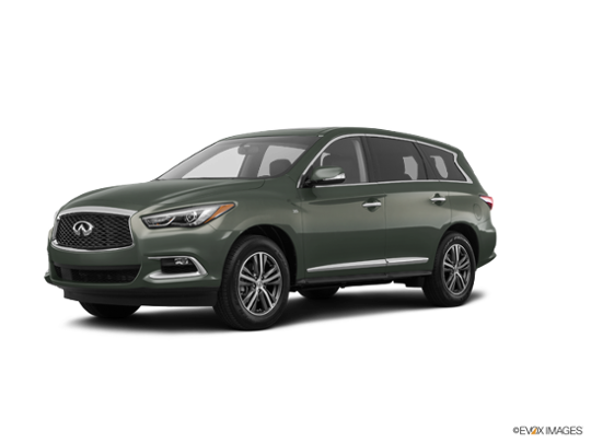 2017 INFINITI QX60 in Jade Green