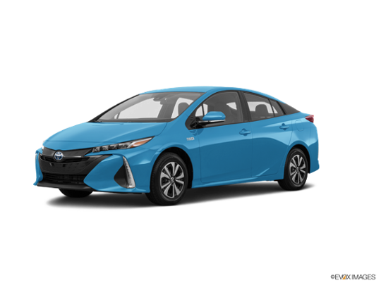 2017 Toyota Prius Prime in Blue Magnetism