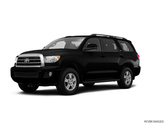 2017 Toyota Sequoia in Black