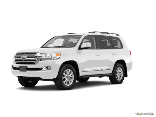 2017 Toyota Land Cruiser in Blizzard Pearl