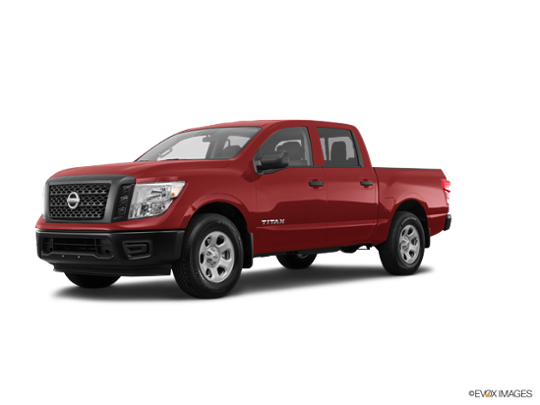 2017 Nissan Titan in Cayenne Red