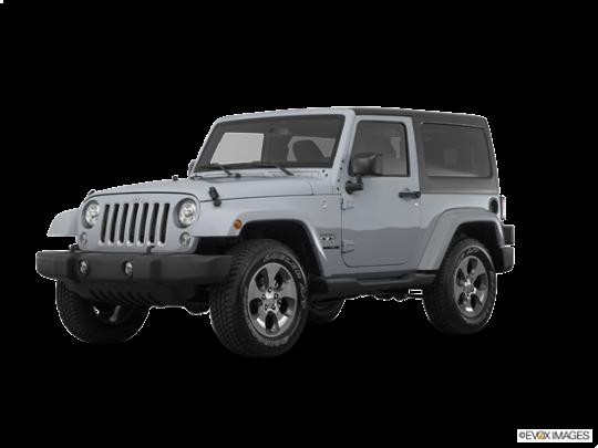 2017 Jeep Wrangler in Billet Silver Metallic Clearcoat