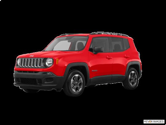 2017 Jeep Renegade in Colorado Red