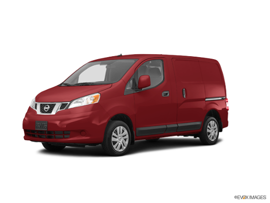 2017 Nissan NV200 Compact Cargo in Cayenne Red
