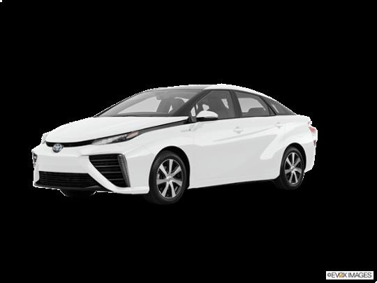 2017 Toyota Mirai in Crystal White