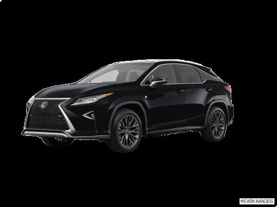 2017 Lexus RX 450h in Obsidian