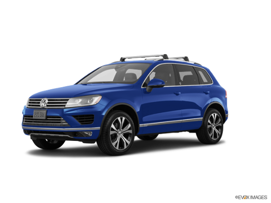 2017 Volkswagen Touareg in Reef Blue Metallic