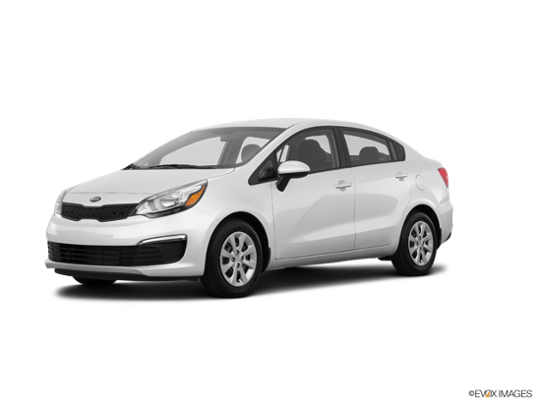 2017 Kia Rio in Clear White