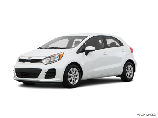 2017 Kia Rio 5-door in Clear White