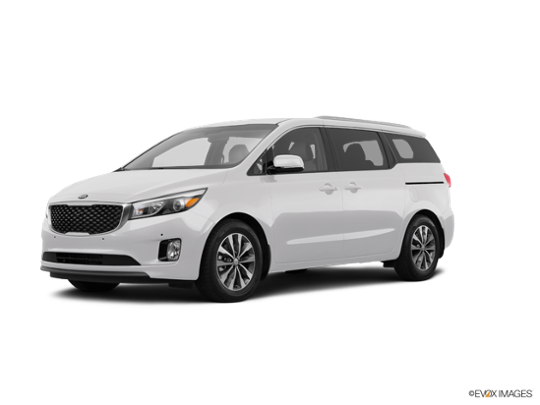 2017 Kia Sedona in Clear White