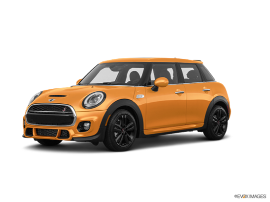 2017 MINI Cooper Hardtop 4 Door in Volcanic Orange