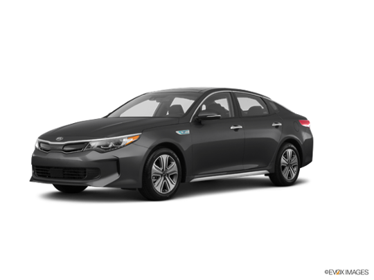 2017 Kia Optima in Platinum Graphite