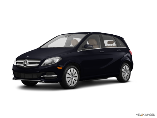 2017 Mercedes-Benz B-Class in Night Black