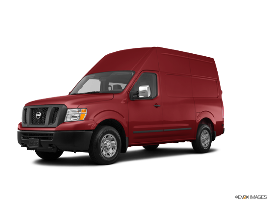 2017 Nissan NV Cargo in Cayenne Red