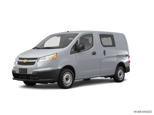 2017 Chevrolet City Express Cargo Van in Galvanized Silver