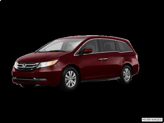 2017 Honda Odyssey in Deep Scarlet Pearl