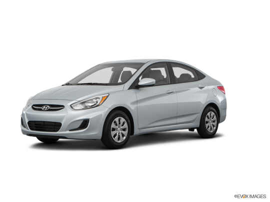 2017 Hyundai Accent in Ironman Silver Metallic