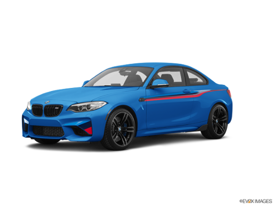 2017 BMW M2 in Long Beach Blue Metallic